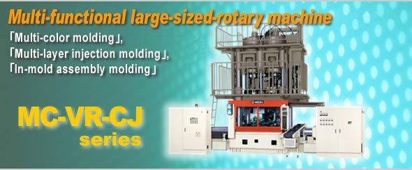 Multi-functional large-sized-rotary machine