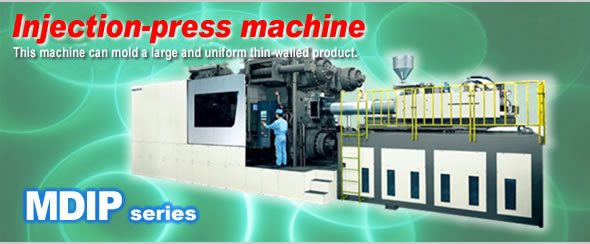 Injection-Press machine, Meiki,