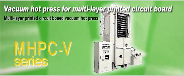 Vacuum Hot Press for Multi-layer Printed Circuit Board