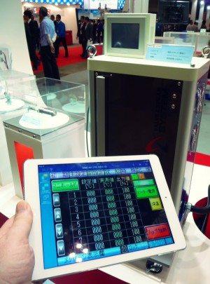 iPad Seiki Hot Runner Controller